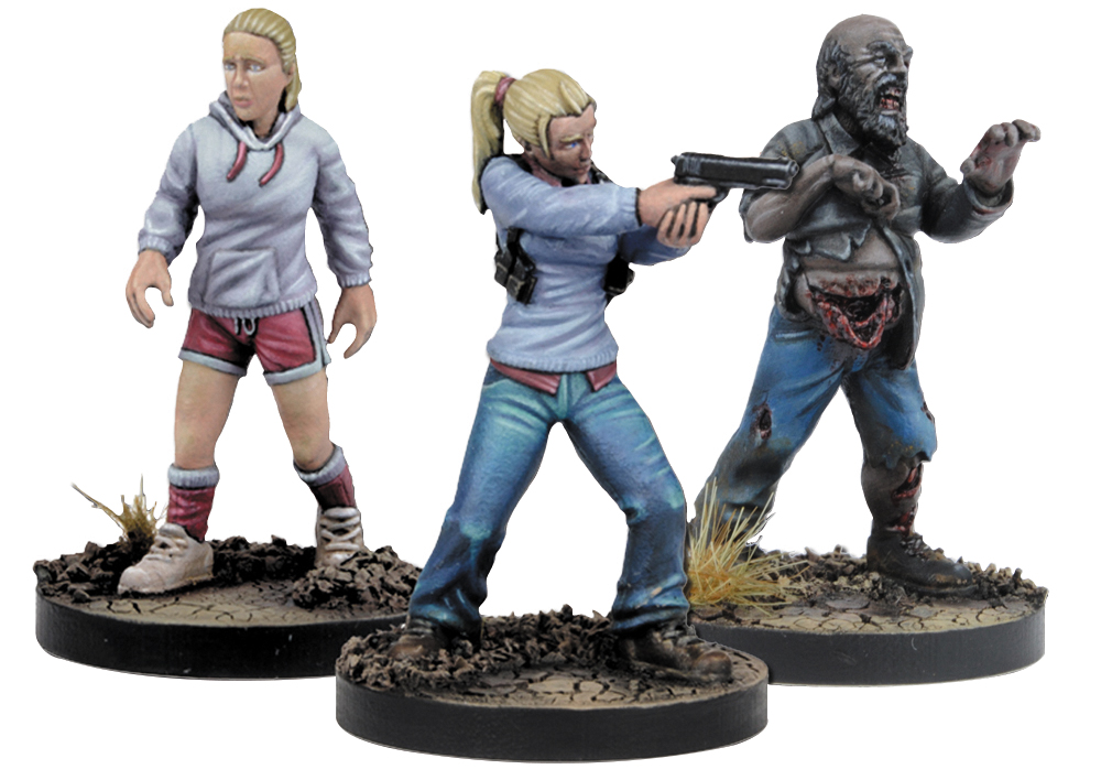 The Walking Dead: All Out War Andrea Booster Expansion Box Front