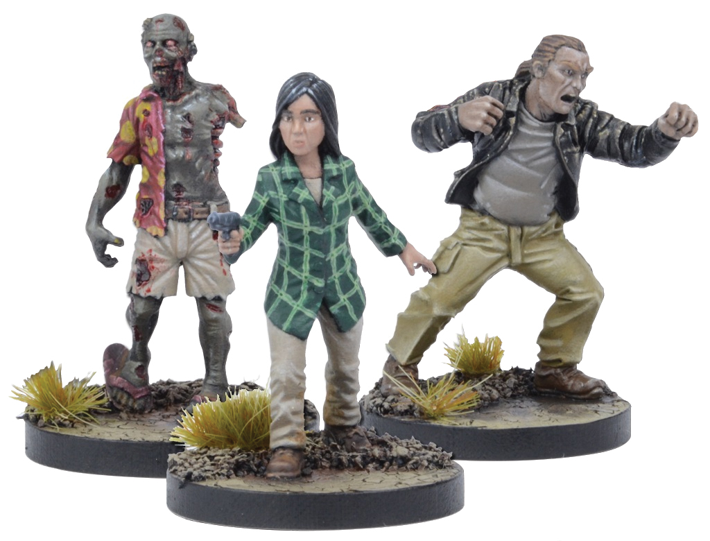 The Walking Dead: All Out War Maggie Booster Box Front