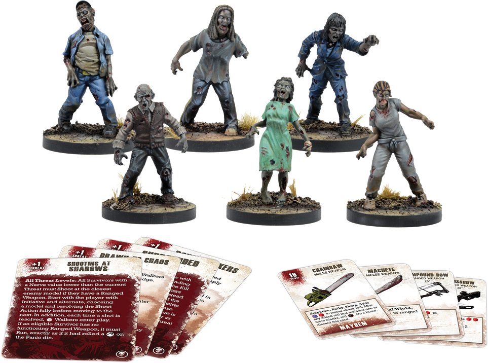 The Walking Dead: All Out War Roamer Booster Set Box Front