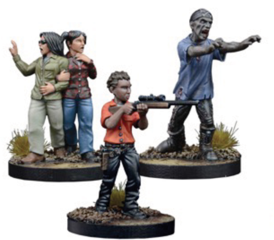 The Walking Dead: All Out War Glenn, Prison Guard Booster Box Front