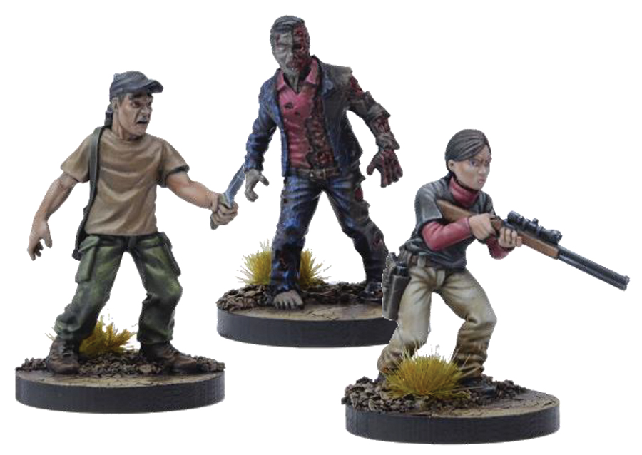 The Walking Dead: All Out War Lilly Booster Box Front