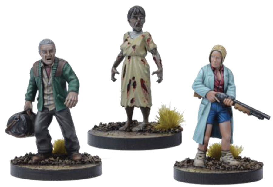 The Walking Dead: All Out War Alice Booster Box Front