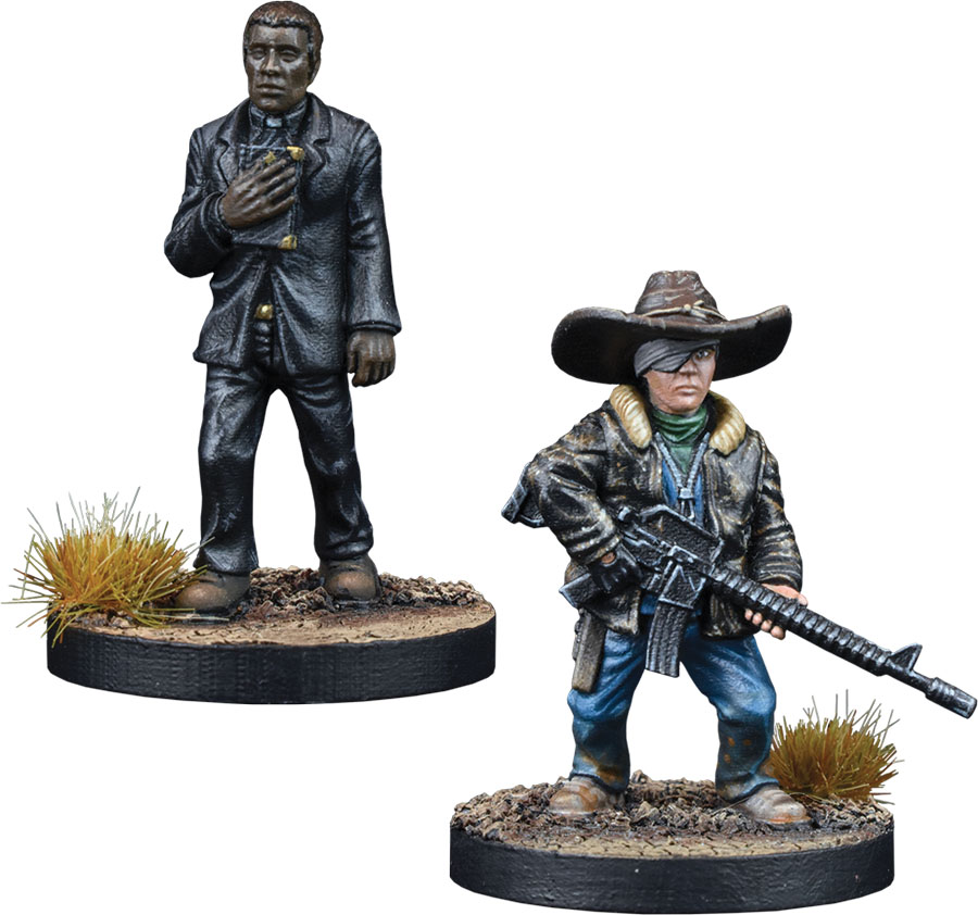 The Walking Dead: All Out War Father Gabriel Booster Game Box