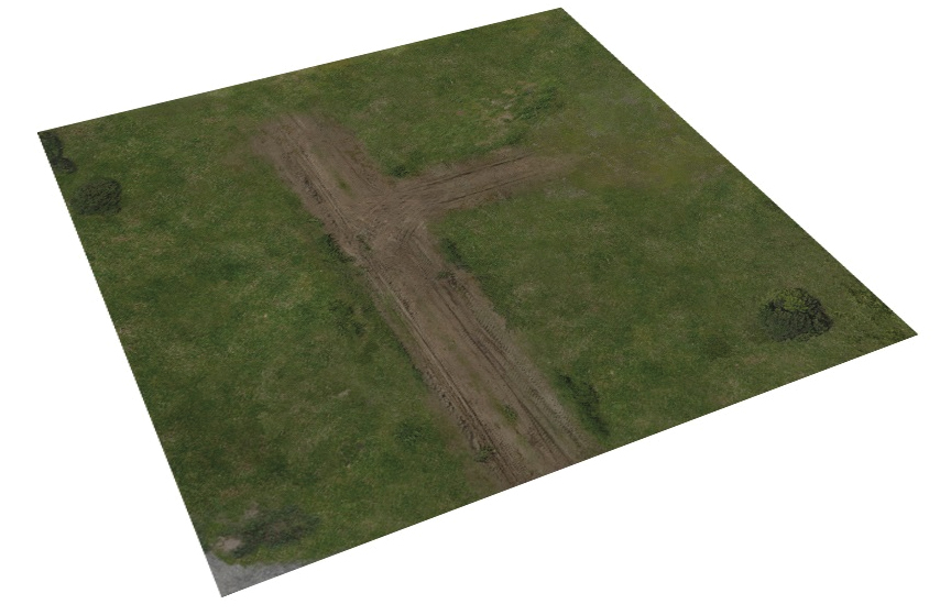 The Walking Dead: All Out War Deluxe Gaming Mat - Greene Farm Box Front
