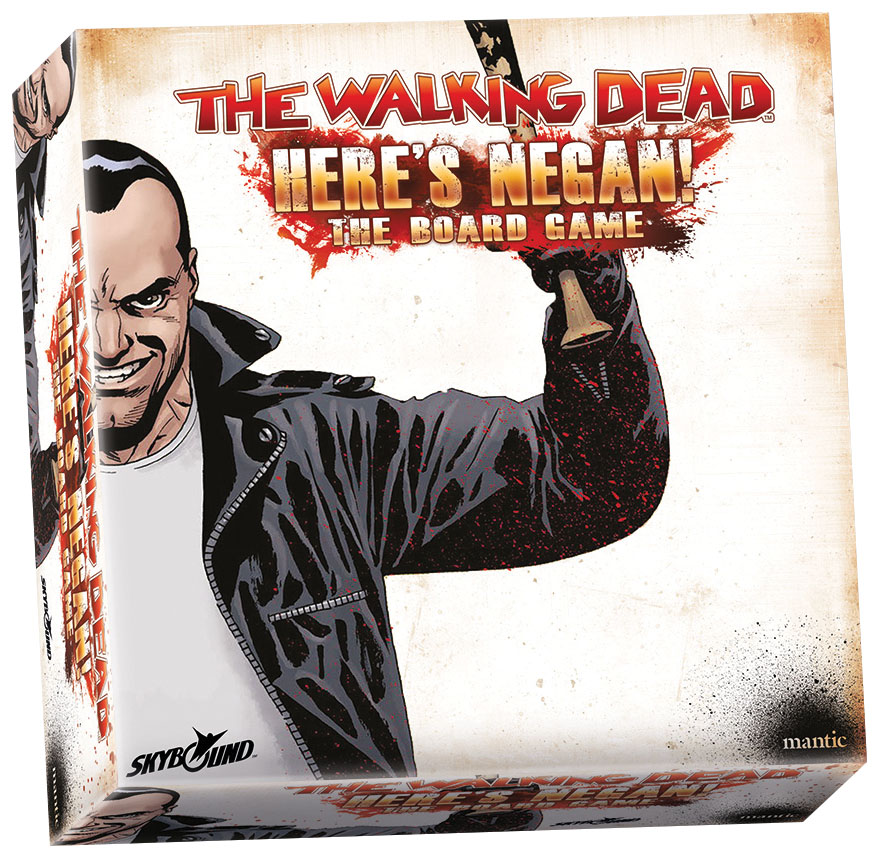 The Walking Dead: Here`s Negan Board Game Game Box