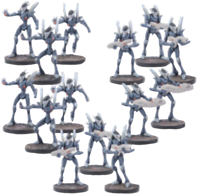 Warpath: Cypher Troops Set (14) Box Front