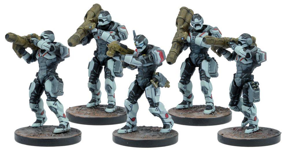 Warpath: Enforcer Heavy Support Team Set