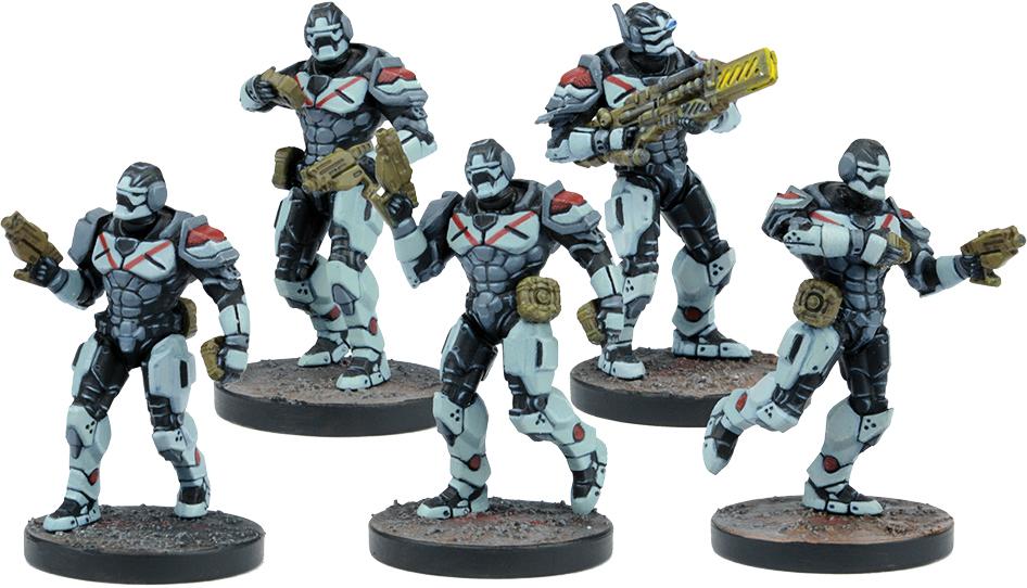 Warpath: Enforcer Breach & Eradicate Team (5) Box Front