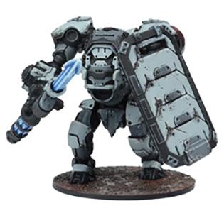 Warpath: Enforcer Ajax Siege Strider Box Front