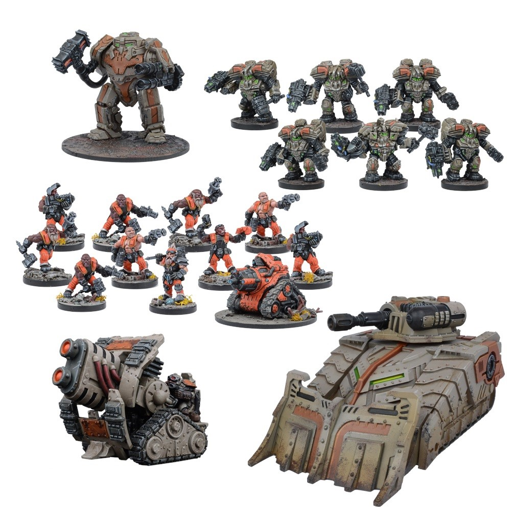 Warpath: Forge Father Reserve Force Set