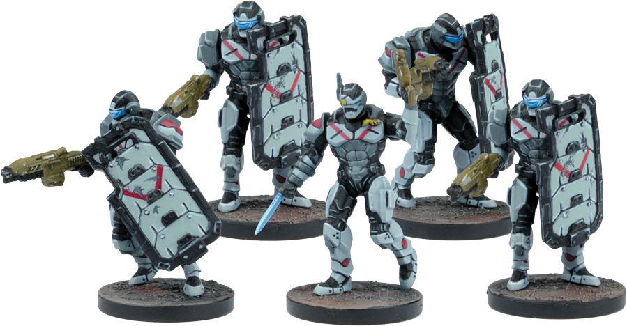 Warpath: Forge Father Hammerfist Drop Team (6) Box Front