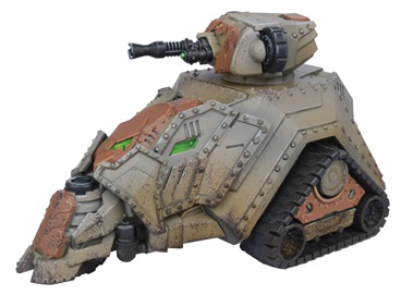 Warpath: Forge Fathers Hultr Half-track Box Front