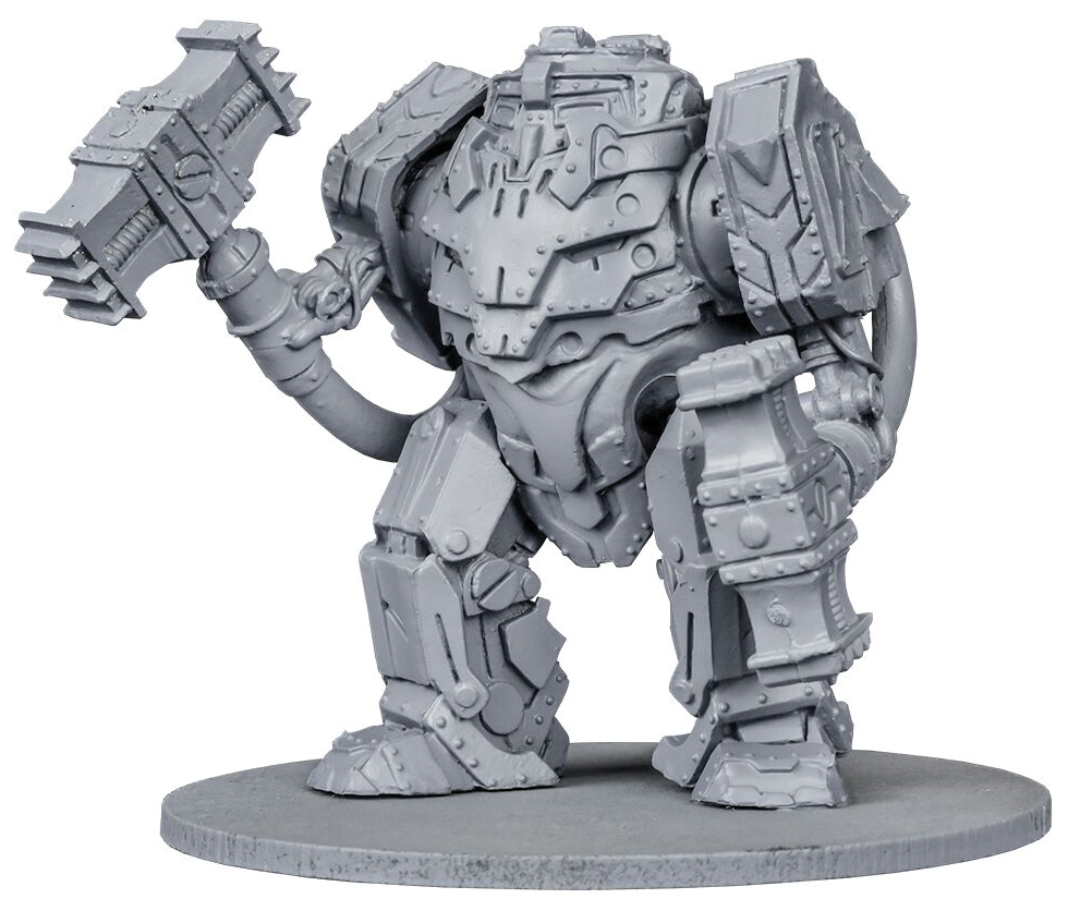 Warpath: Forge Father Thor Pattern Iron Ancestor Box Front