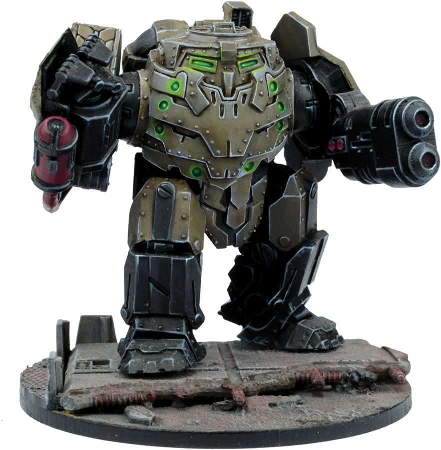 Warpath: Forge Father Hellermal Pattern Iron Ancestor Box Front