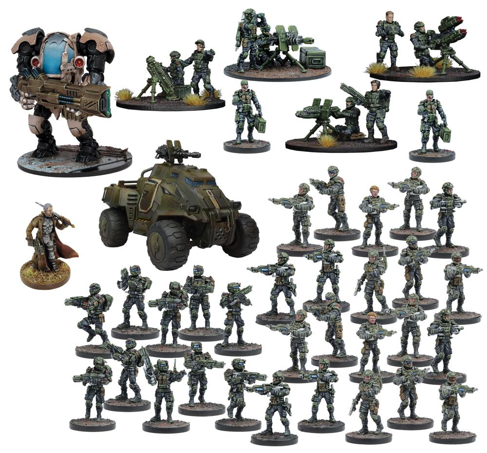 Warpath: Gcps Starter Force Box Front