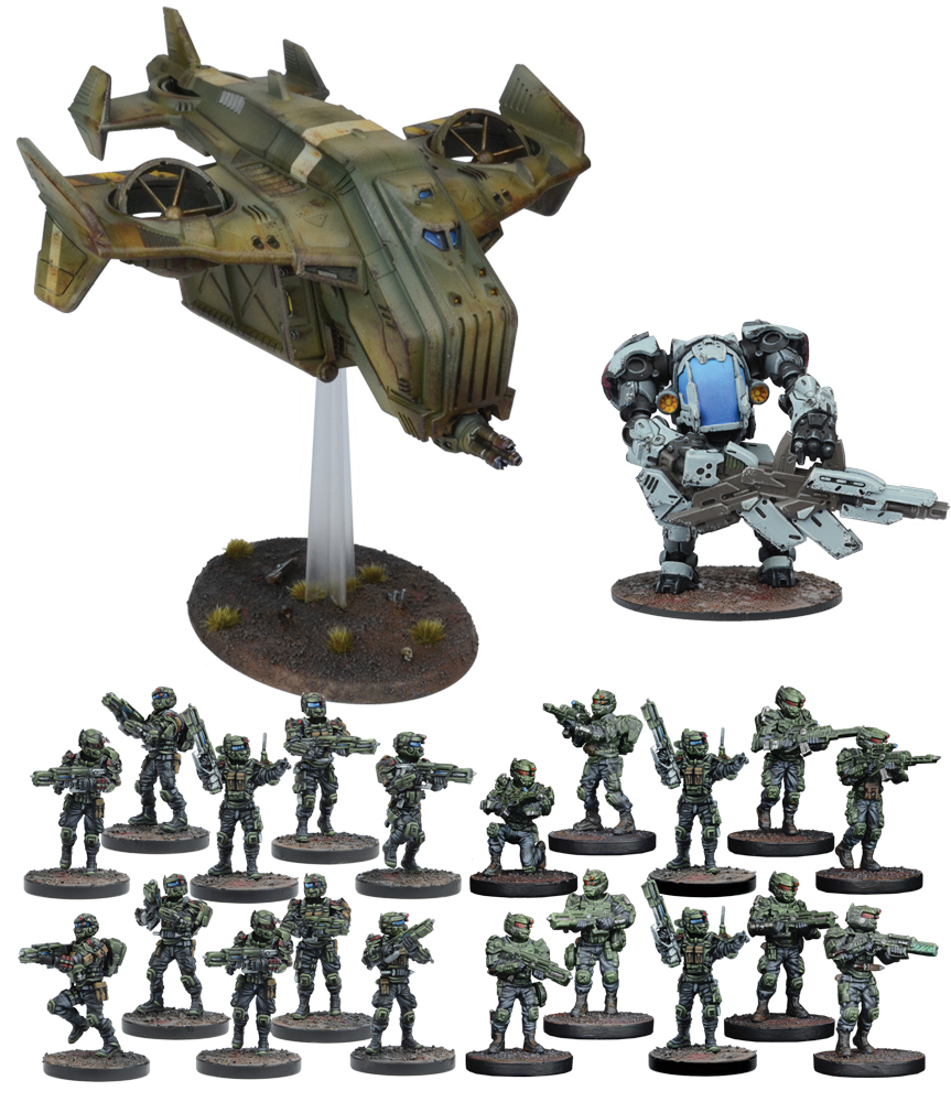 Warpath: Gcps Reserve Force Box Front