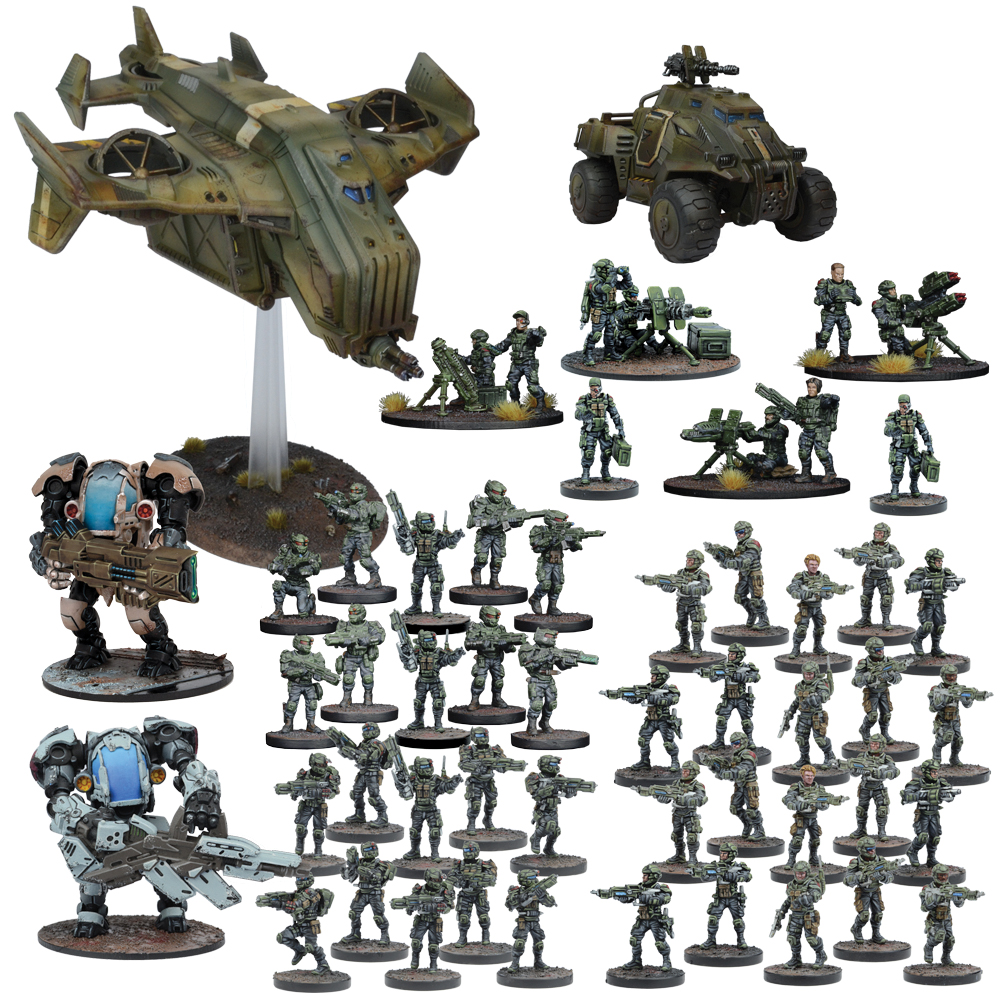 Warpath: Gcps Mega Force Box Front