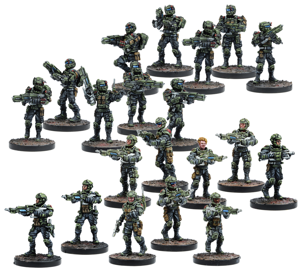 Warpath: Gcps Troopers Box Front