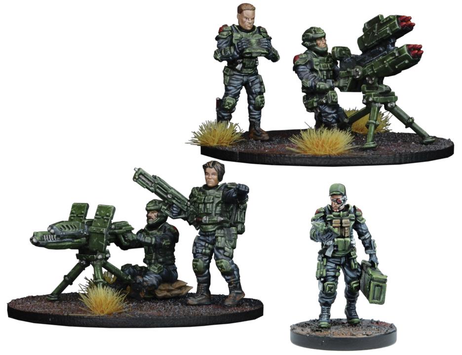 Warpath: Gcps Anti-tank Weapons Teams Box Front