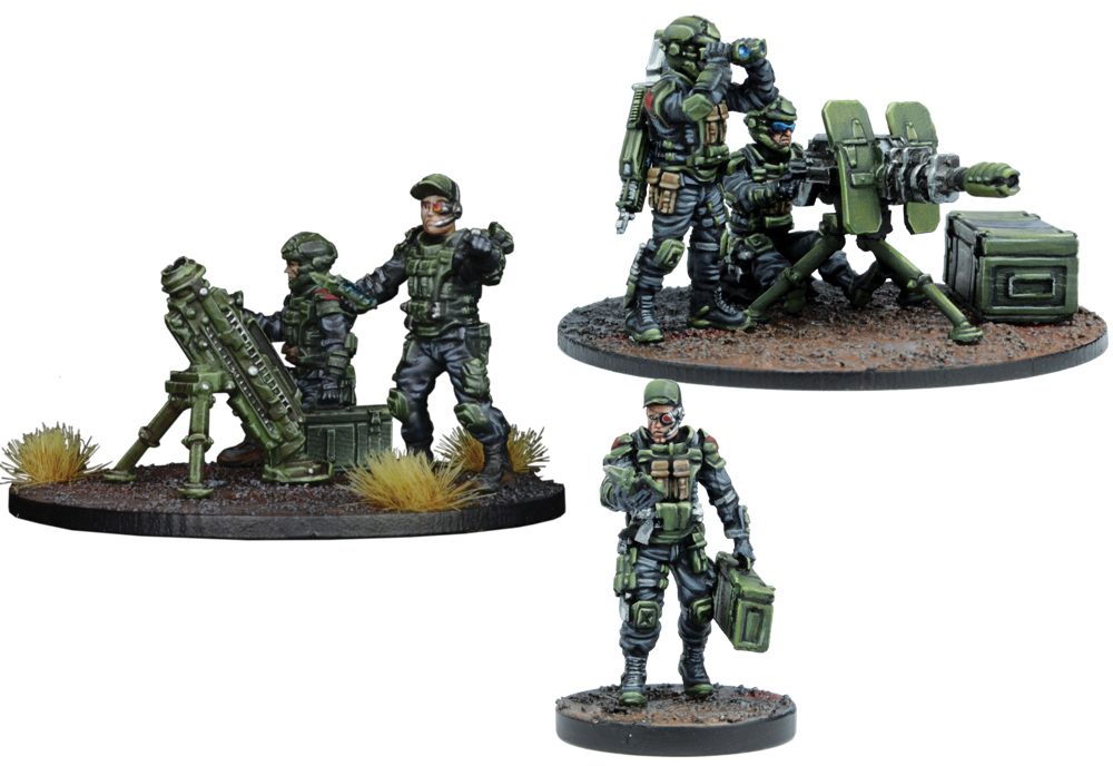 Warpath: Gcps Anti-infantry Weapons Teams Box Front