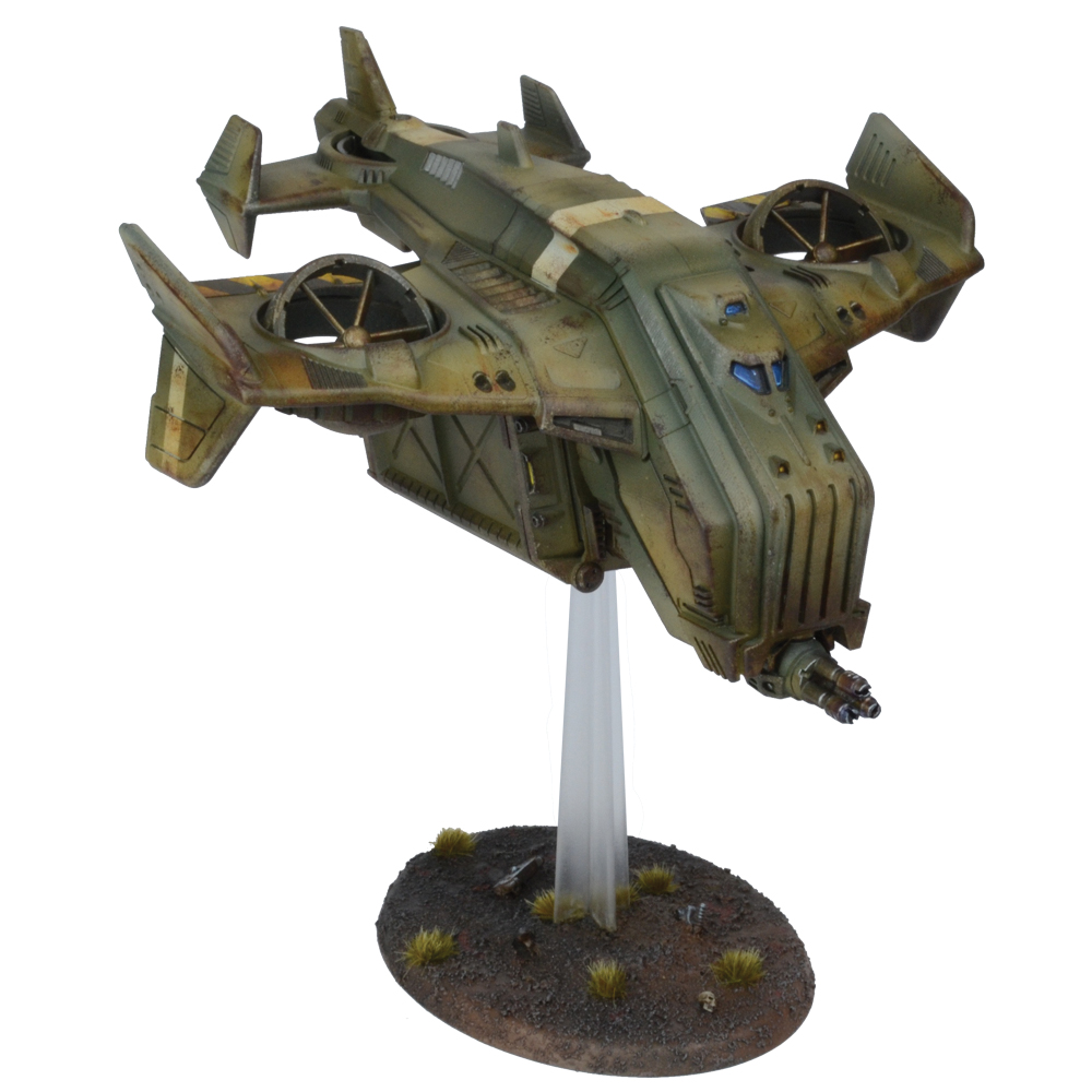 Warpath: Tad-65 Hornet Dropship Box Front