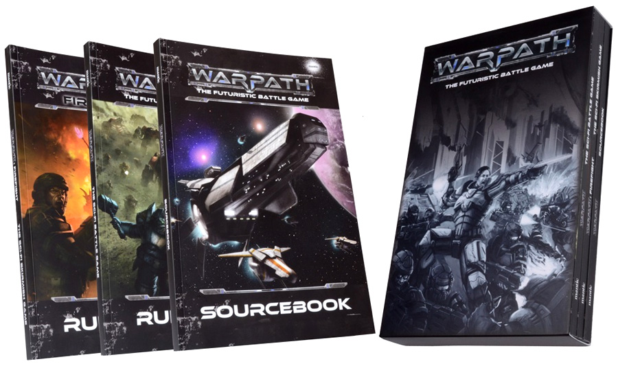 Warpath: Rulebook Collection Box Front