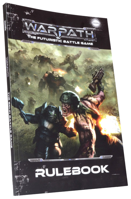 Warpath: Rulebook Box Front
