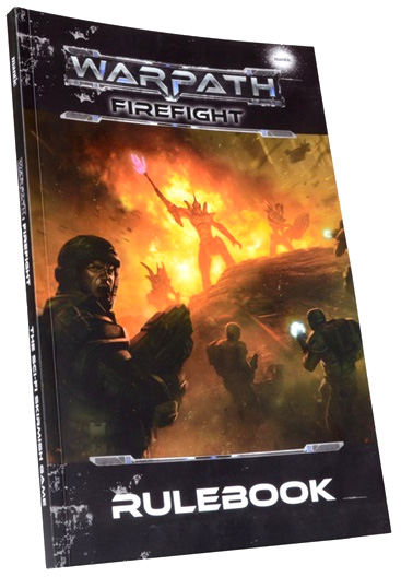 Warpath: Firefight Rulebook Box Front