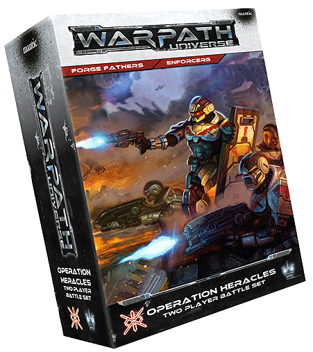 Warpath: Operation Heracles Two Player Starter Set Box Front
