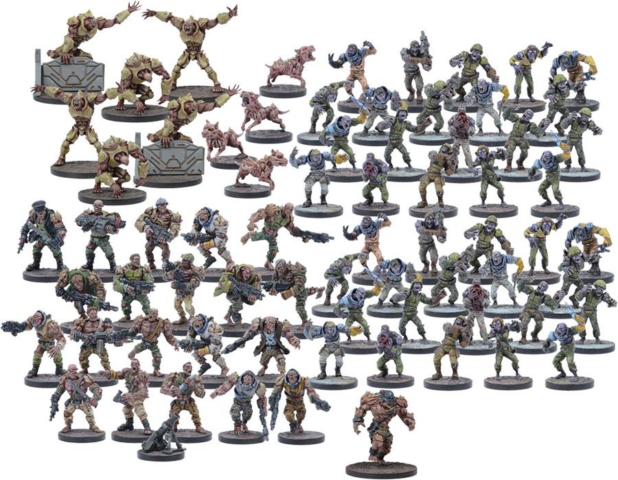 Warpath: Plague Starter Force Game Box