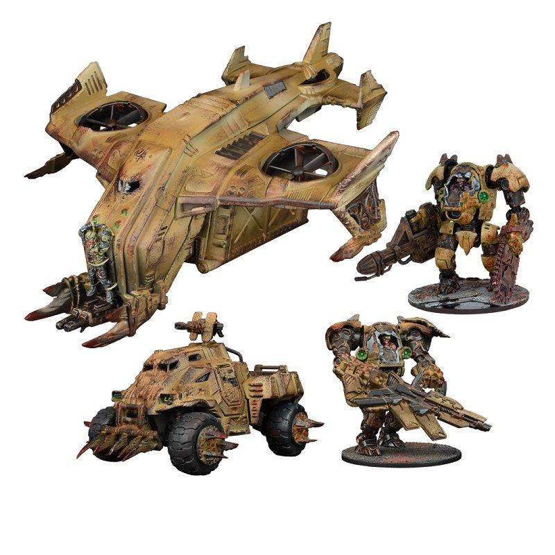 Warpath: Plague Reserve Force Game Box