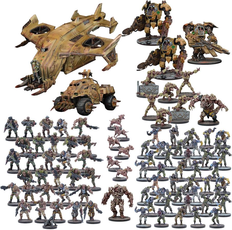 Warpath: Plague Mega Force Game Box