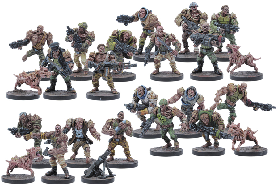 Warpath: Plague 3rd Generation Troopers Set (24) Box Front