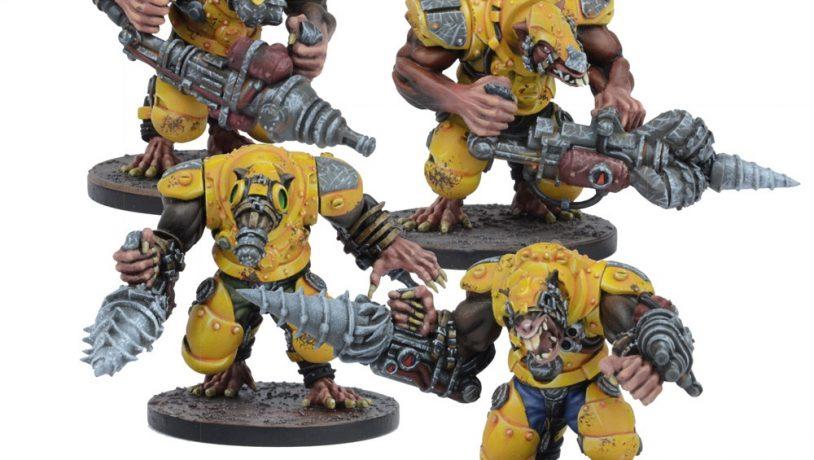 Warpath: Veer-myn Nigthmares Set (4)