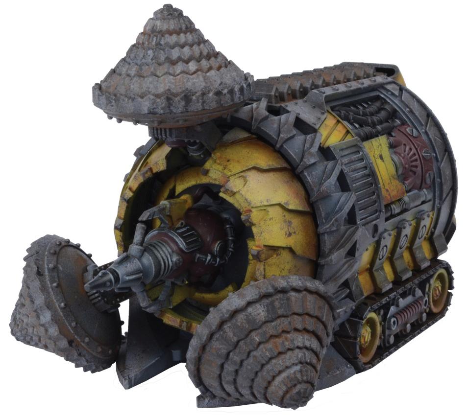 Warpath: Veer-myn Tunneller Box Front