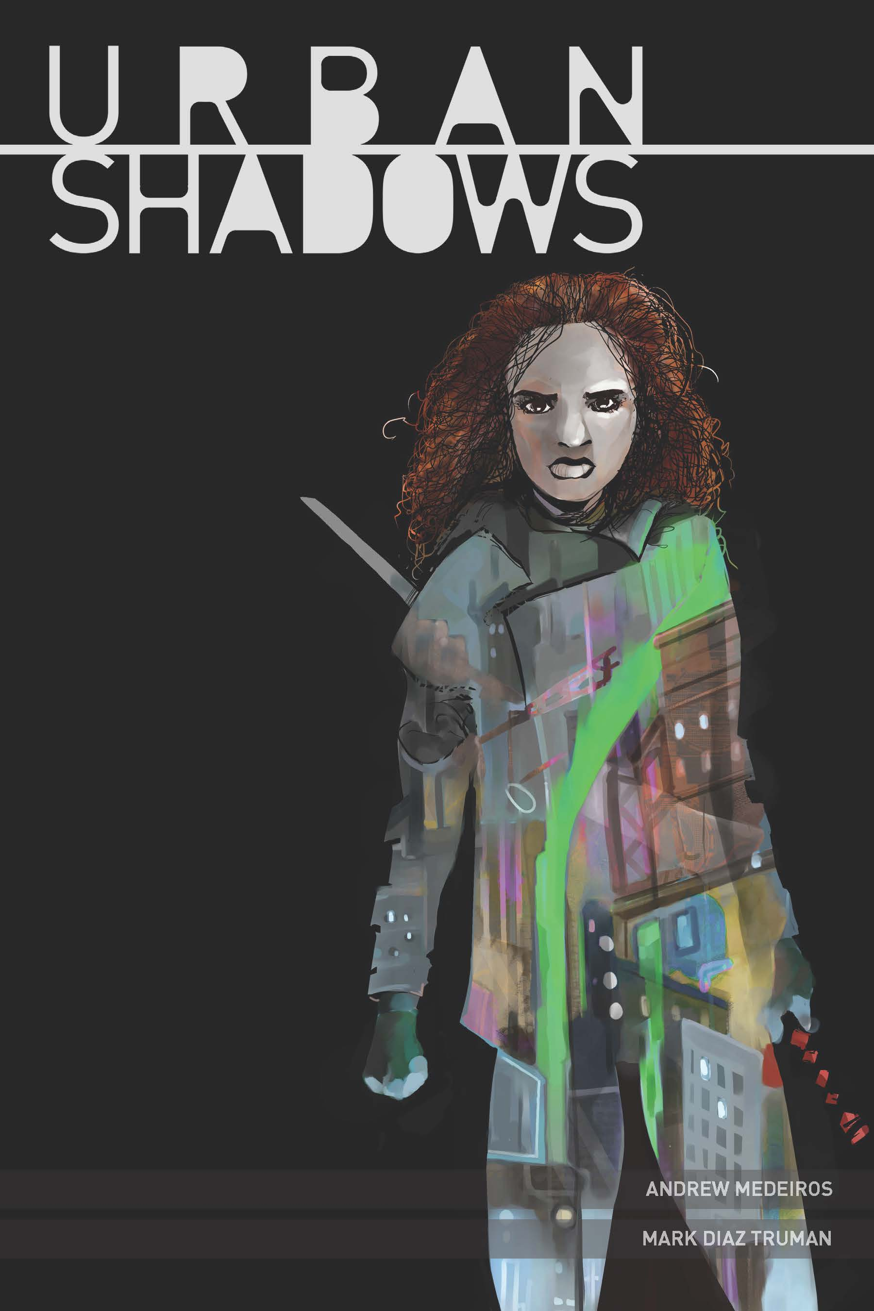 Urban Shadows Rpg (softcover) Box Front