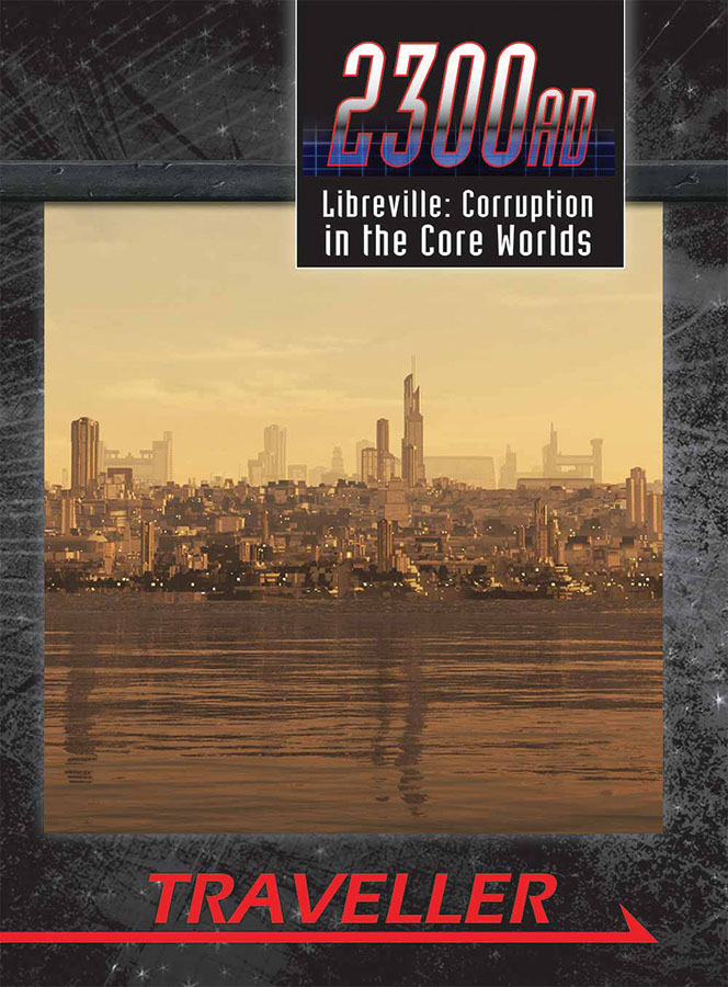 Traveller Rpg: 2300ad - Libreville Corruption In The Core Worlds Box Front