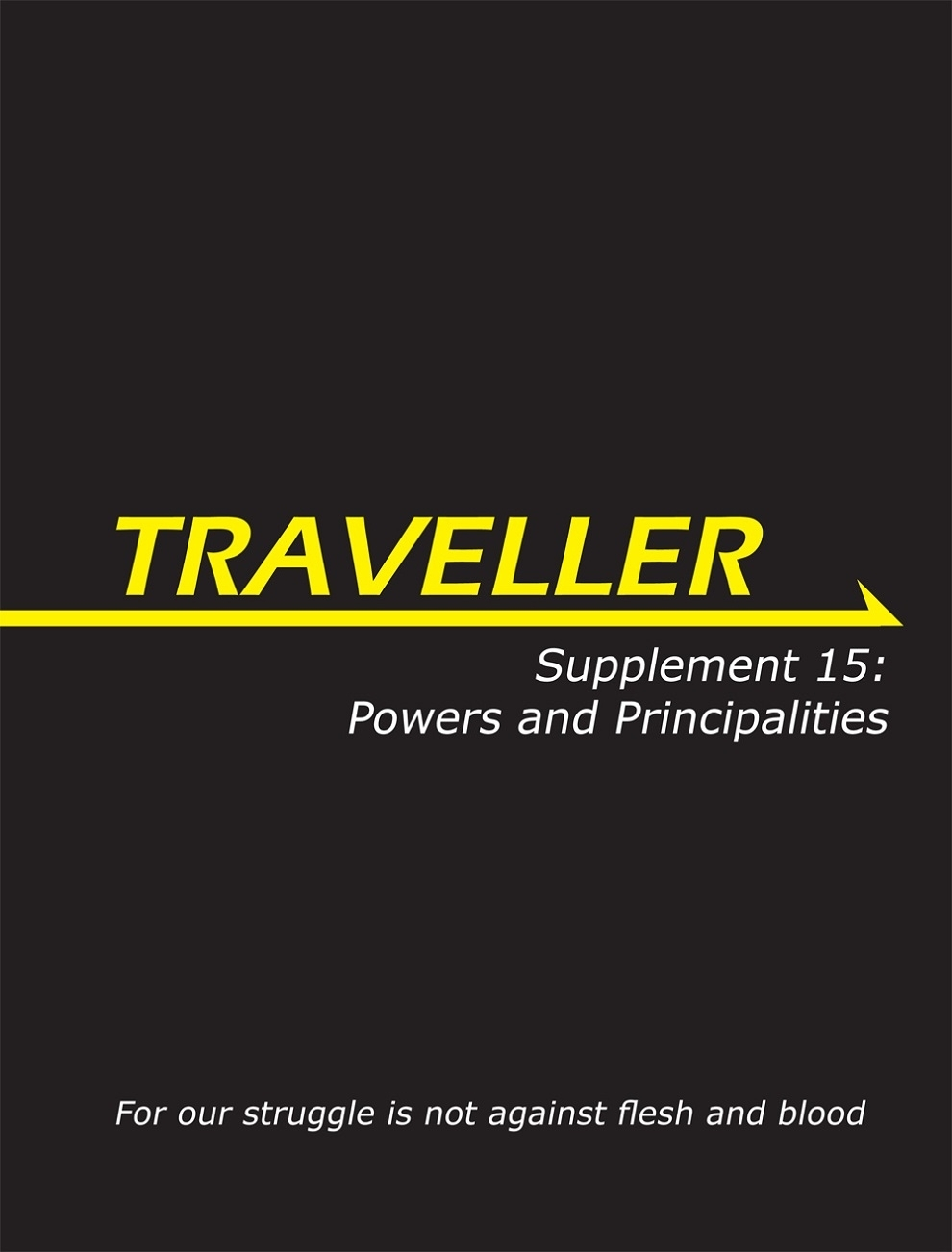 Traveller Rpg: Supplement 15 - Powers And Principalities Box Front