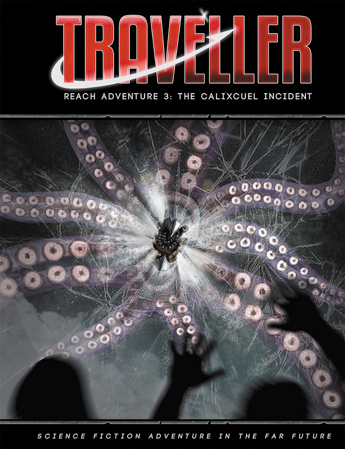 Traveller Rpg: Reach Adventure 3 - The Calixcuel Incident Box Front