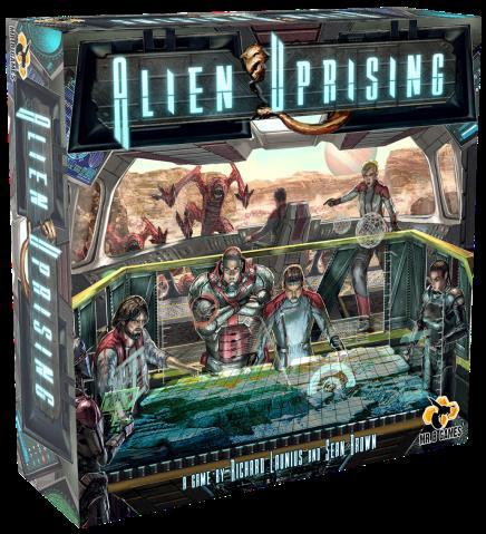 Alien Uprising Box Front