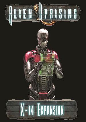 Alien Uprising: X-14 Expansion Box Front
