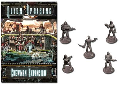 Alien Uprising: Crewman Expansion Box Front