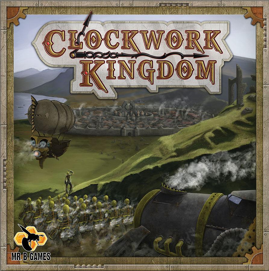 Clockwork Kingdom Box Front