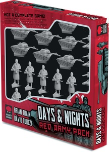 Nights Of Fire: Days And Nights - Red Army Expansion Game Box