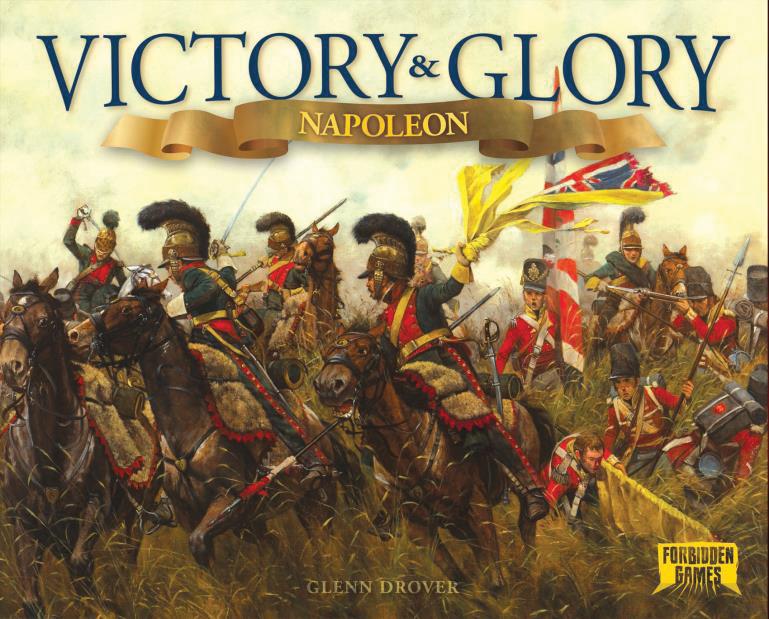 Victory & Glory: Napoleon Box Front