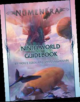 Numenera Rpg: Ninth World Guidebook Hardcover Box Front