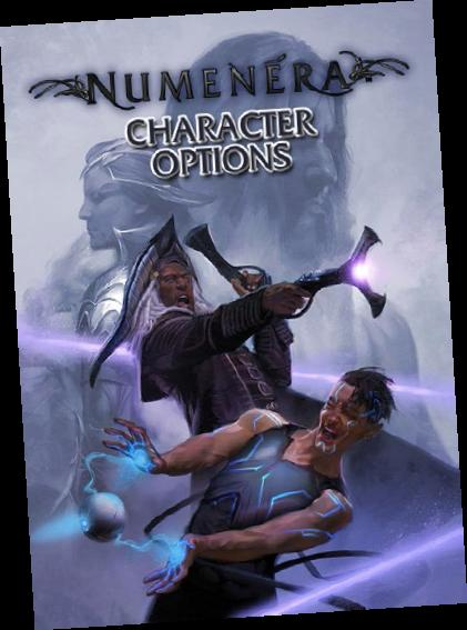 Numenera Rpg: Character Options Box Front
