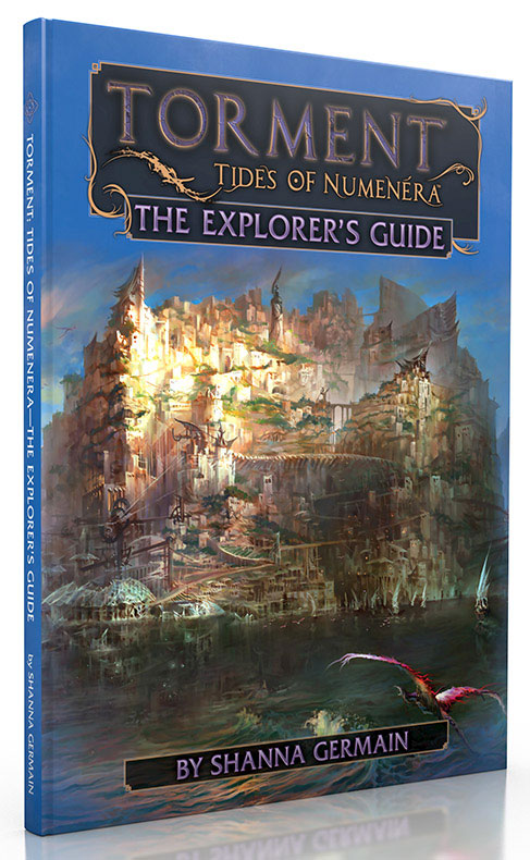Numenera Rpg: Torment - Tides Of Numenera - The Explorer`s Guide Hardcover Box Front