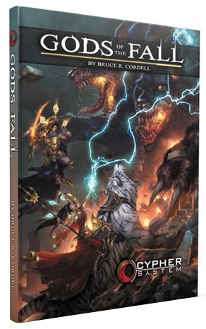 Cypher System Rpg: Gods Of The Fall Hardcover Box Front