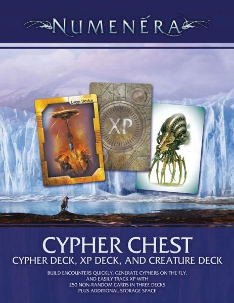 The Strange Rpg: Cypher Chest Box Front